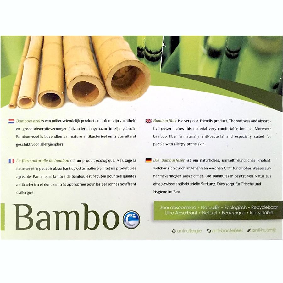 Uitleg Bamboo matras/topper